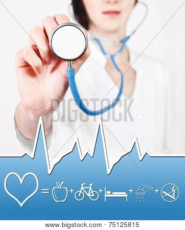 Scheme preventing diseases