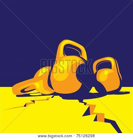 Kettlebell Colorful