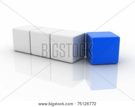 Blue Cube