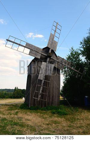Old Windmill In Pirogov Museum