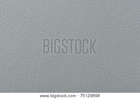 Gray Matte Faux Leather Texture