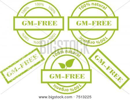 GM-Free green stamps