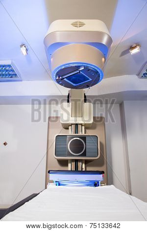 Radiotherapy room - Radiation therapy machine
