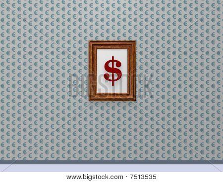 Euro-wallpaper