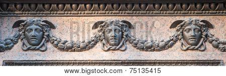 Masks of Hermes (Mercury)
