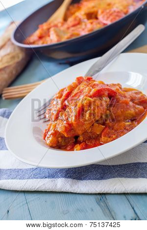 Tuna On Sauce