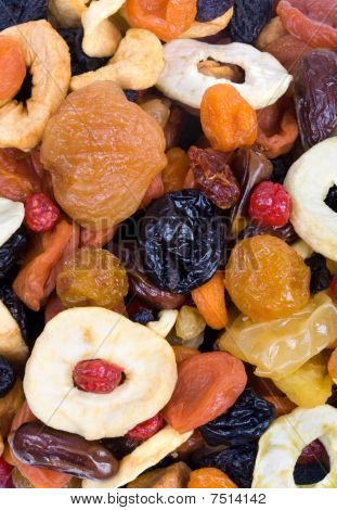 Background Of Dried Fruits