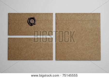 Brown Vintage Envelopes