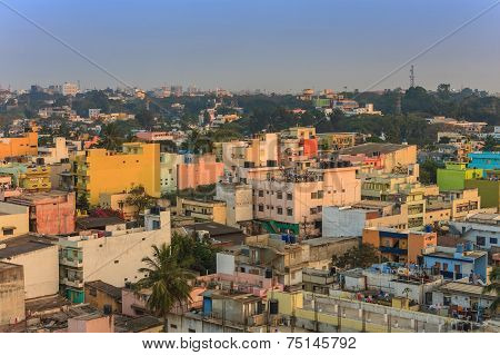 Bangalore City skyline