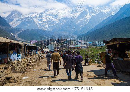 Pilgrimage to Kedarnath, India.