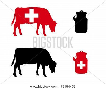 Swiss Milk Cow