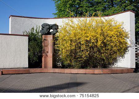Bust Of Poetess Salomeja Neris