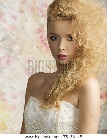 Woman With Stylish Hair-style