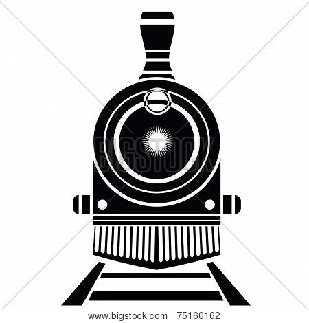 Old Train Icon