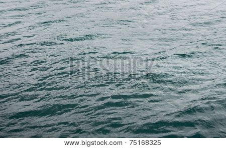 Texture Of Waves On Lake Michigan