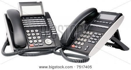 Two Digital Telephone Sets