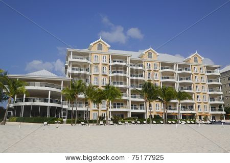 Luxury condominium located on the Seven Miles Beach at Grand Cayman