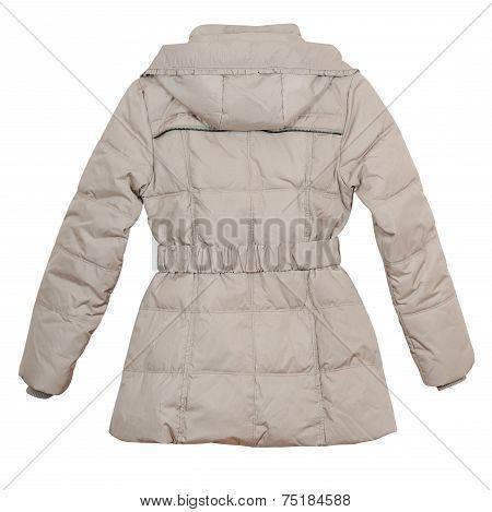 Women's Down Jacket (rear View)