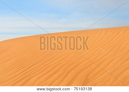 Photo Of Sand Dune In The Desert Of United Arab Emirates