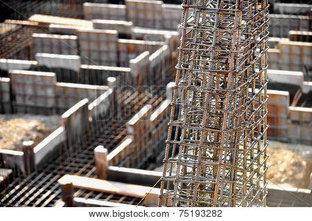 Industrial Iron Reinforcement Detail