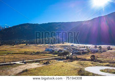 Village in Lulang