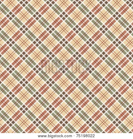 Scottish checked ornament seamless pattern