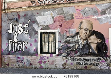 Mural To Saramago
