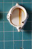 foto of urination  - Old urinals interior public toilets architecture detail - JPG