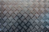 foto of hash  - A metal background with a hash mark pattern - JPG