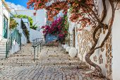 foto of faro  - Ancient street village the Estoi - JPG