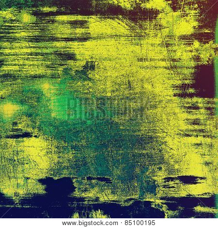 Abstract old background or faded grunge texture. With different color patterns: yellow (beige); blue; purple (violet); green