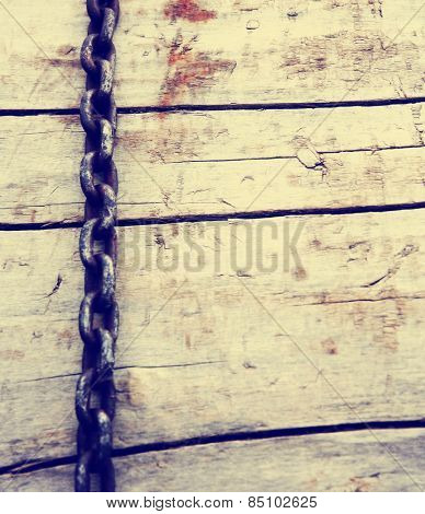 abstract design wood and metal texture background toned with a retro vintage instagram filter effect app or action