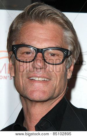 LOS ANGELES - MAR 7:  Harry Hamlin at the Raising The Bar To End Parkinsons Event at the Public School 818 on March 7, 2015 in Sherman Oaks, CA