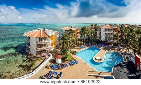 Decameron Aquarium Hotel In San Andres Island
