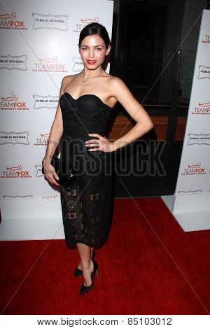 LOS ANGELES - MAR 7:  Jenna Dewan Tatum at the Raising The Bar To End Parkinsons Event at the Public School 818 on March 7, 2015 in Sherman Oaks, CA