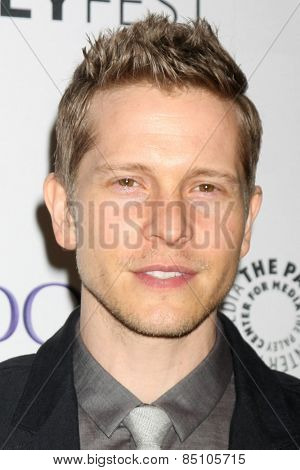 LOS ANGELES - MAR 7:  Matt Czuchry at the PaleyFEST LA 2015 -