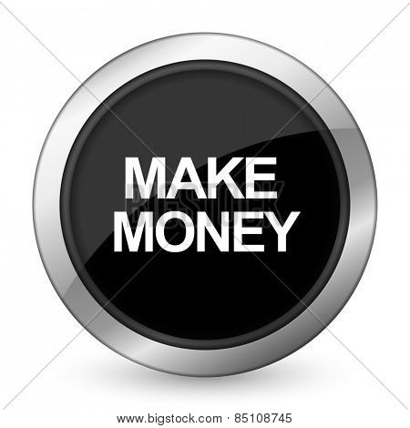 make money black icon