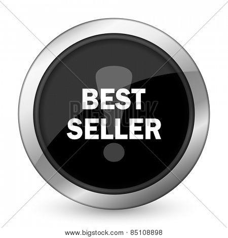 best seller black icon