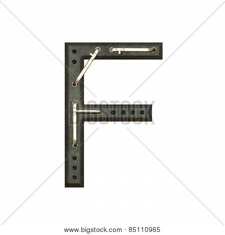Alphabet Technically, Letter F