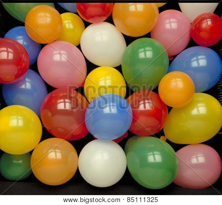 Colorful balloons group background.bunch of colorful balloons.