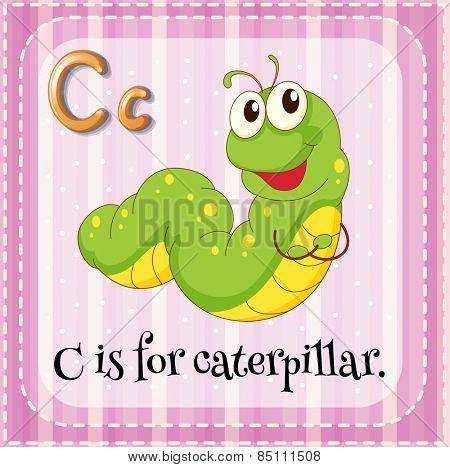 Alphabet C is for caterpillar