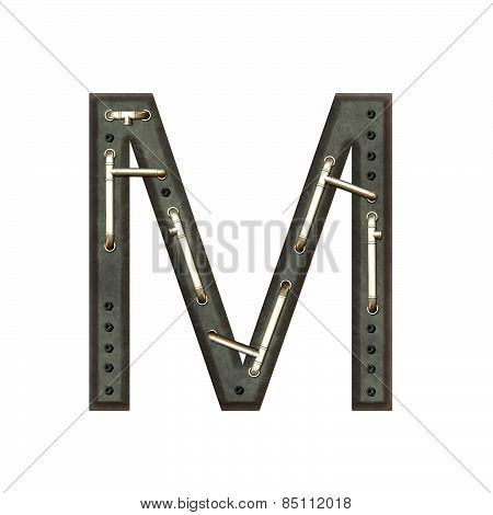 Alphabet Technically, Letter M