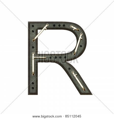 Alphabet Technically, Letter R