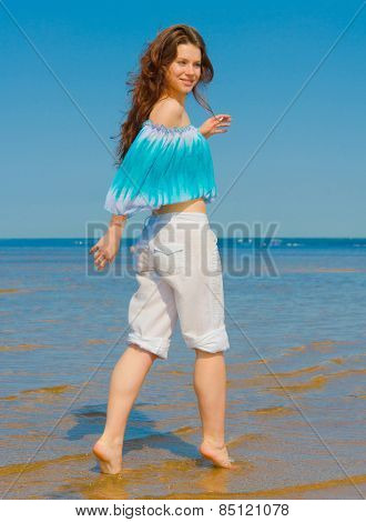 Wind Beach Relaxing