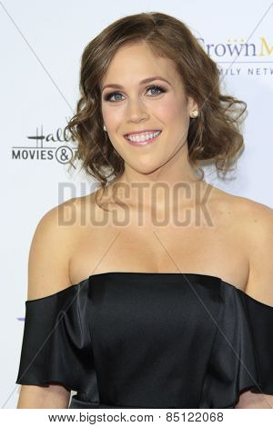 LOS ANGELES - JAN 8: Erin Krakow at the TCA Winter 2015 Event For Hallmark Channel and Hallmark Movies & Mysteries at Tournament House on January 8, 2015 in Pasadena, CA