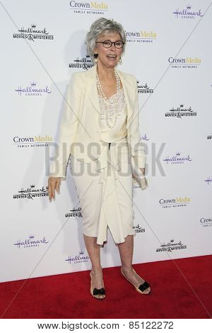 LOS ANGELES - JAN 8: Rita Moreno at the TCA Winter 2015 Event For Hallmark Channel and Hallmark Movies & Mysteries at Tournament House on January 8, 2015 in Pasadena, CA