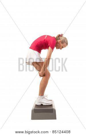 Sport Series: Step Aerobics.stretching Back