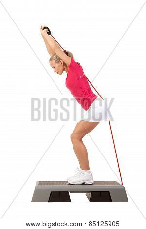 Sport Series: Step Aerobics With Weights