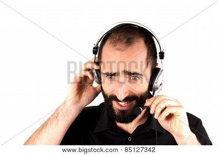 Calla center operator