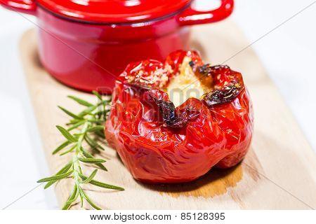Red Pepper, Green Rosemary